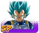 Vegeta - Super Saiyan God SS