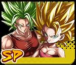 Caulifla: Kale (Assist) - Super Saiyan 2